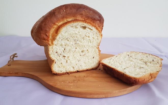 Pan blanco con roux de agua