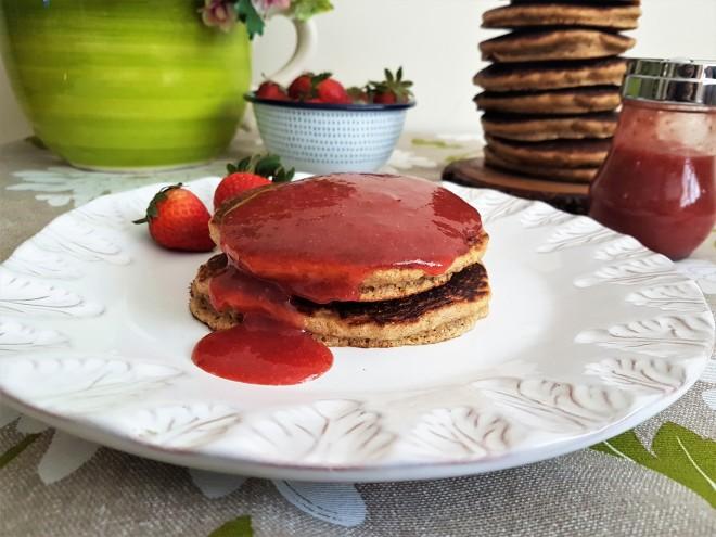 Hotcakes de maíz/ Corn pancakes