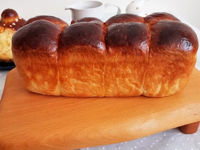 Pan brioche Nanterre/ Nanterre brioche bread